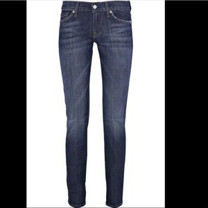 """7 For All Mankind """"Roxy"""" Skinny Jeans Size 28"""
